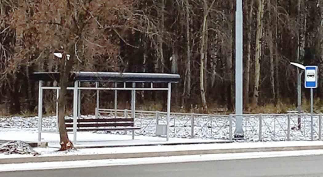 Две новые автобусные остановки вПерми «заработают» с15декабря