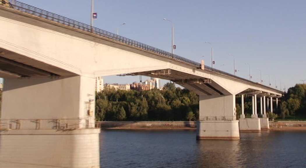 ВПерми до30ноября ограничат движение наКоммунальному мосту