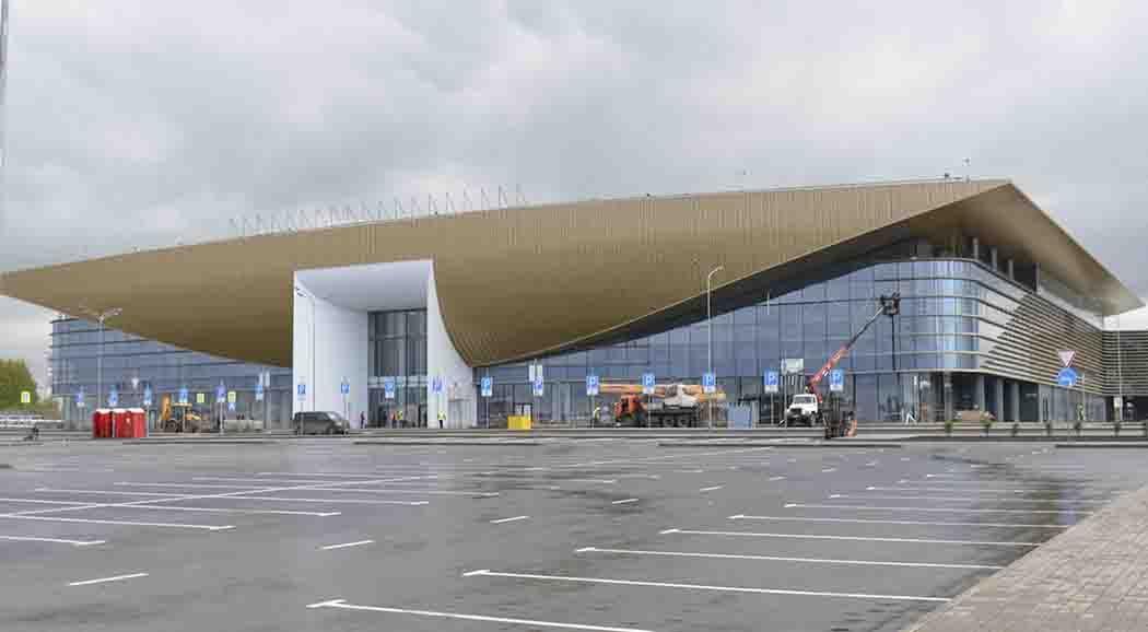 ВПерми открыто движение потранспортной развязке около нового терминала аэропорта