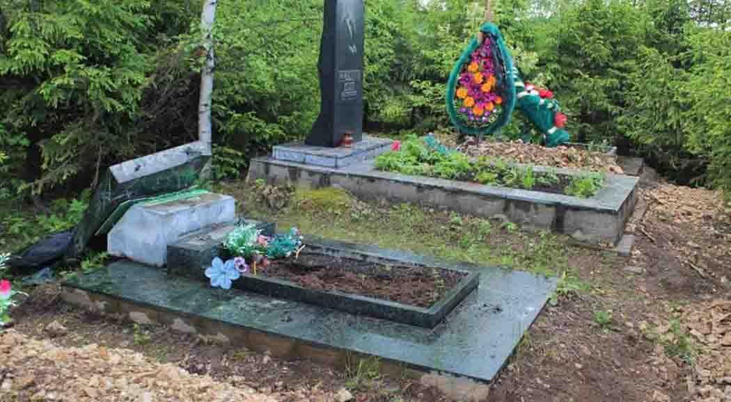 ВПрикамье схвачен подозреваемый впорче надгробий накладбище