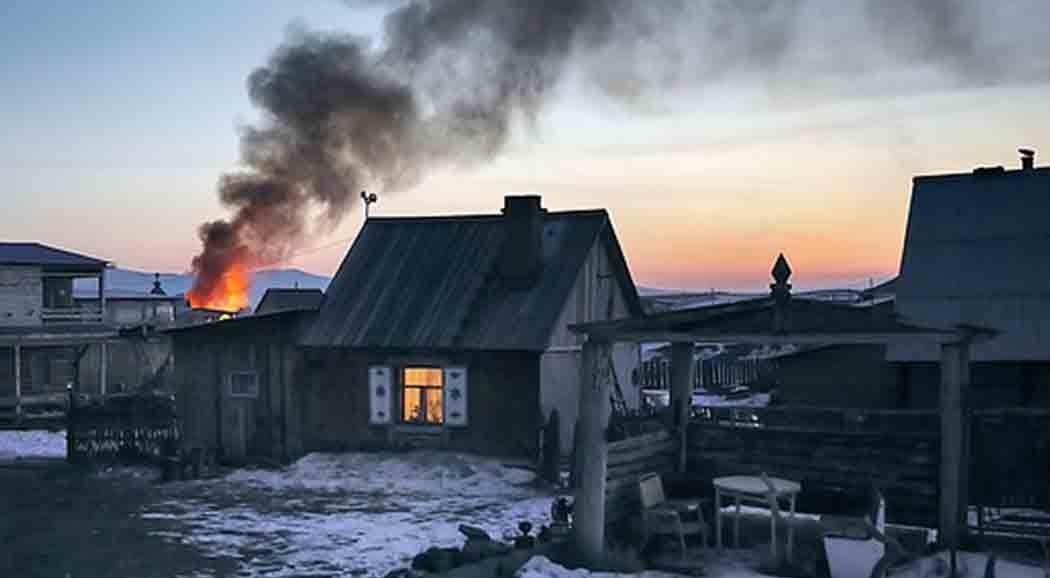 ВПермском крае напожаре погибли двое несовершеннолетних детей