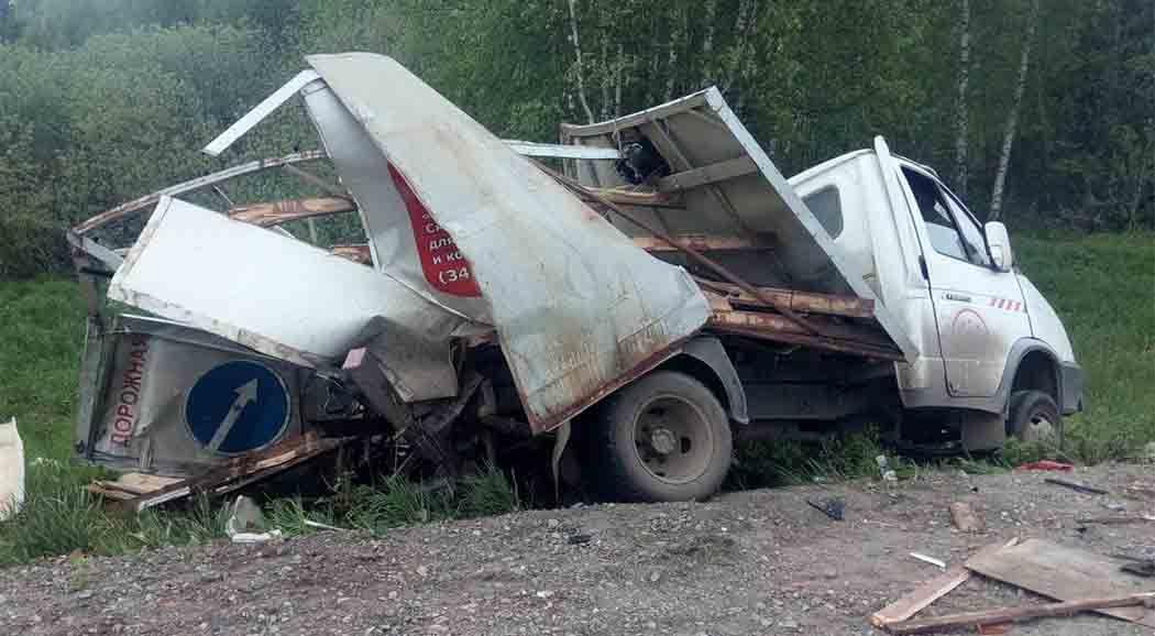Вжестком массовом ДТП натрассе Пермь-Березники погибла женщина