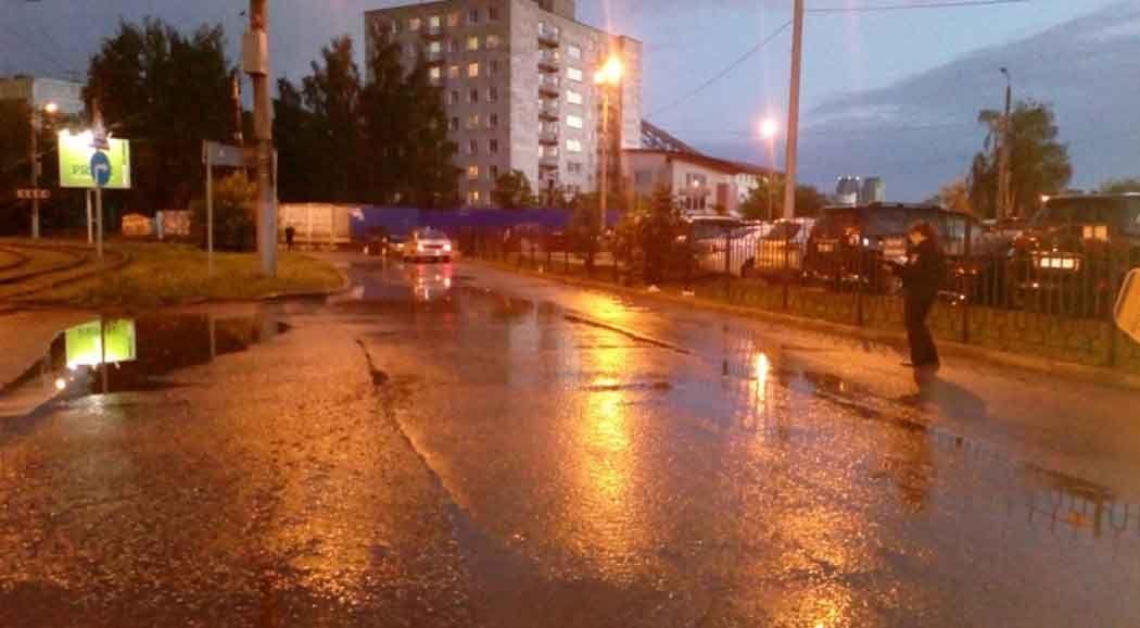 ВПерми шофёр ВАЗа сбил женщину и исчез