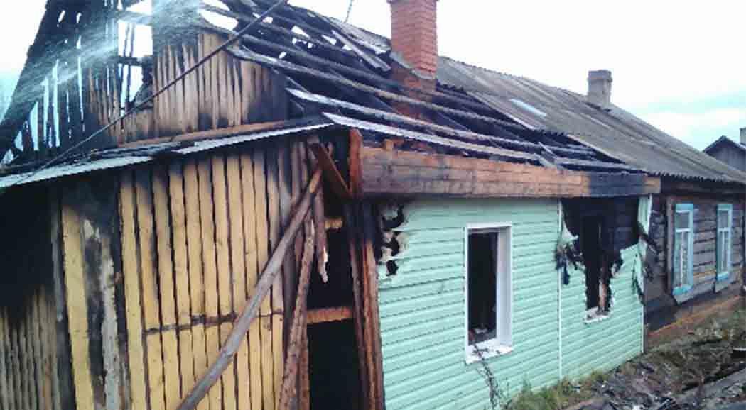 Двое детей погибли напожаре вВерещагинском районе