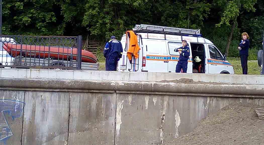 ВПерми около Коммунального моста отыскали труп мужчины